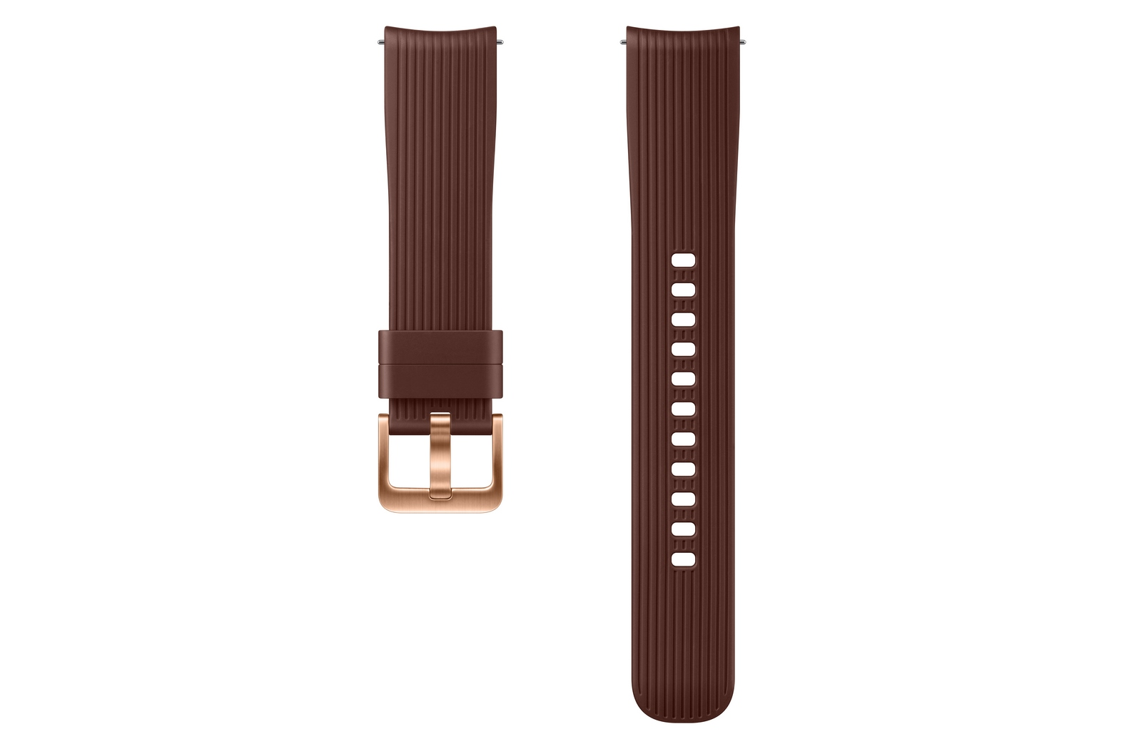Silicone Band (20mm) / Brown / Galaxy Watch Original Samsung