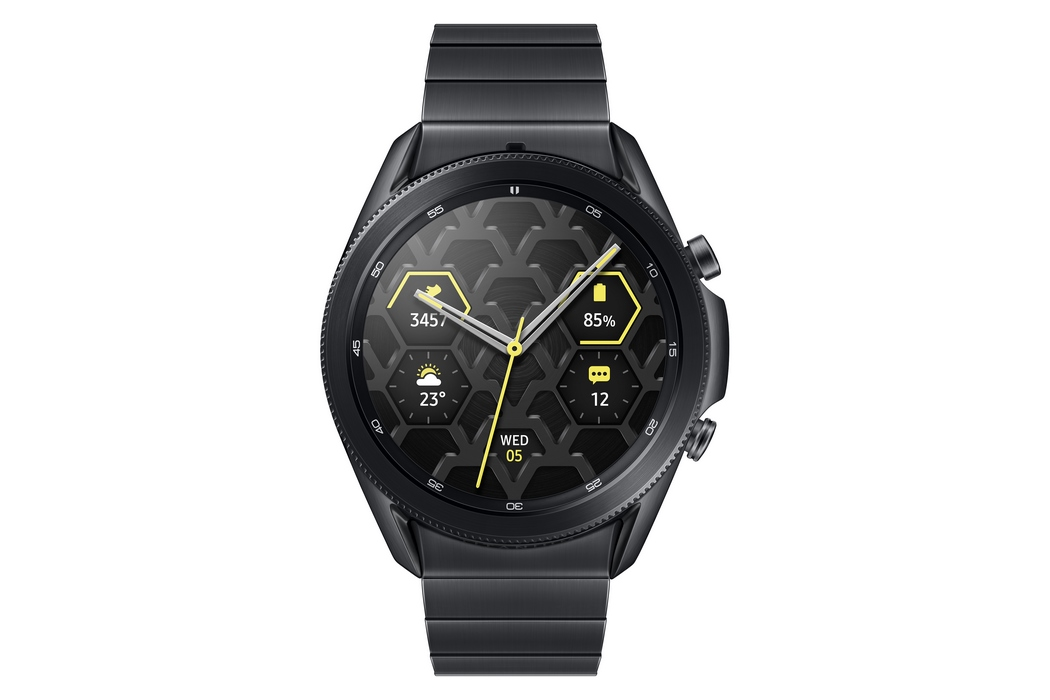 Samsung Galaxy Watch 3 Mystic Black Titan 45mm Bluetooth